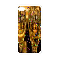 Sylvester New Year S Eve Apple iPhone 4 Case (White)