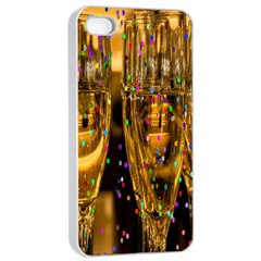 Sylvester New Year S Eve Apple Iphone 4/4s Seamless Case (white)