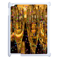 Sylvester New Year S Eve Apple iPad 2 Case (White)