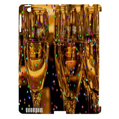 Sylvester New Year S Eve Apple iPad 3/4 Hardshell Case (Compatible with Smart Cover)