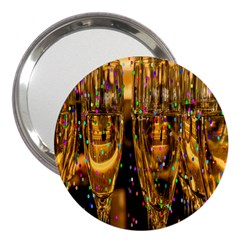Sylvester New Year S Eve 3  Handbag Mirrors