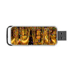Sylvester New Year S Eve Portable Usb Flash (two Sides)