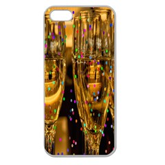 Sylvester New Year S Eve Apple Seamless Iphone 5 Case (clear)