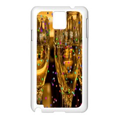Sylvester New Year S Eve Samsung Galaxy Note 3 N9005 Case (white)