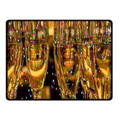 Sylvester New Year S Eve Double Sided Fleece Blanket (small)