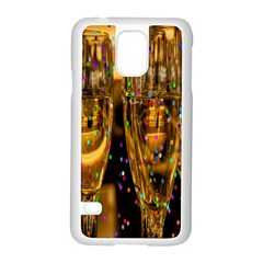 Sylvester New Year S Eve Samsung Galaxy S5 Case (white)