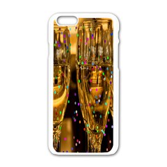 Sylvester New Year S Eve Apple iPhone 6/6S White Enamel Case