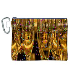 Sylvester New Year S Eve Canvas Cosmetic Bag (xl)