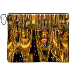 Sylvester New Year S Eve Canvas Cosmetic Bag (XXXL)