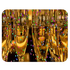 Sylvester New Year S Eve Double Sided Flano Blanket (Medium)