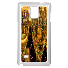 Sylvester New Year S Eve Samsung Galaxy Note 4 Case (White)