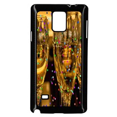 Sylvester New Year S Eve Samsung Galaxy Note 4 Case (Black)