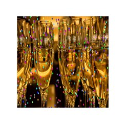 Sylvester New Year S Eve Small Satin Scarf (square)