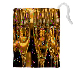 Sylvester New Year S Eve Drawstring Pouches (XXL)