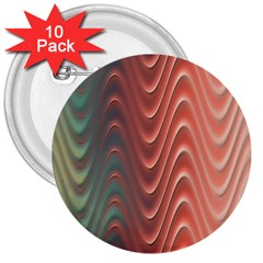 Texture Digital Painting Digital Art 3  Buttons (10 pack)