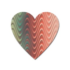 Texture Digital Painting Digital Art Heart Magnet