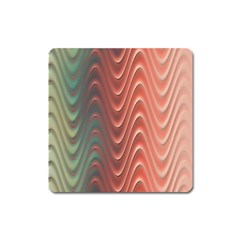 Texture Digital Painting Digital Art Square Magnet