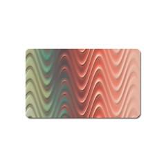 Texture Digital Painting Digital Art Magnet (name Card)
