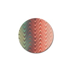 Texture Digital Painting Digital Art Golf Ball Marker (10 pack)