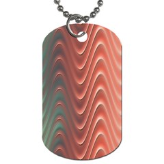Texture Digital Painting Digital Art Dog Tag (Two Sides)