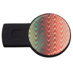 Texture Digital Painting Digital Art USB Flash Drive Round (4 GB)