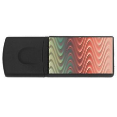 Texture Digital Painting Digital Art Usb Flash Drive Rectangular (4 Gb)