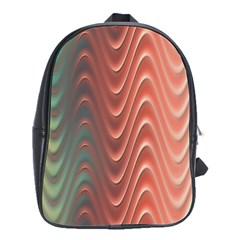 Texture Digital Painting Digital Art School Bags(Large)