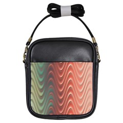 Texture Digital Painting Digital Art Girls Sling Bags