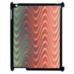 Texture Digital Painting Digital Art Apple iPad 2 Case (Black)