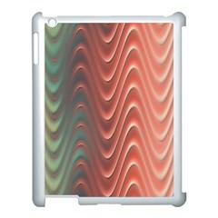 Texture Digital Painting Digital Art Apple Ipad 3/4 Case (white)