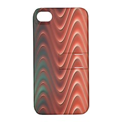 Texture Digital Painting Digital Art Apple Iphone 4/4s Hardshell Case With Stand