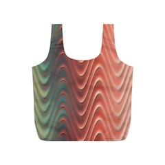 Texture Digital Painting Digital Art Full Print Recycle Bags (s)