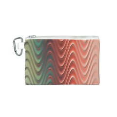 Texture Digital Painting Digital Art Canvas Cosmetic Bag (S)