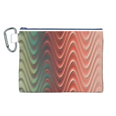 Texture Digital Painting Digital Art Canvas Cosmetic Bag (L)