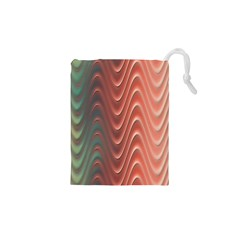 Texture Digital Painting Digital Art Drawstring Pouches (XS)