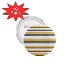 Textile Design Knit Tan White 1.75  Buttons (10 pack)