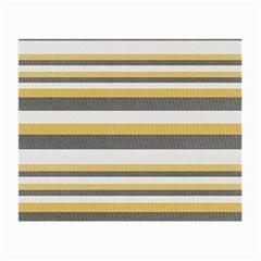 Textile Design Knit Tan White Small Glasses Cloth (2-Side)