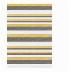 Textile Design Knit Tan White Small Garden Flag (two Sides)