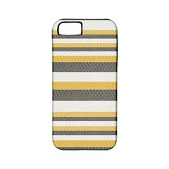 Textile Design Knit Tan White Apple Iphone 5 Classic Hardshell Case (pc+silicone)