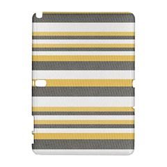 Textile Design Knit Tan White Galaxy Note 1