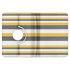 Textile Design Knit Tan White Kindle Fire Hdx Flip 360 Case