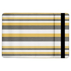 Textile Design Knit Tan White Ipad Air Flip