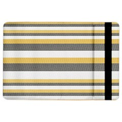 Textile Design Knit Tan White iPad Air 2 Flip