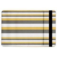 Textile Design Knit Tan White Ipad Air 2 Flip