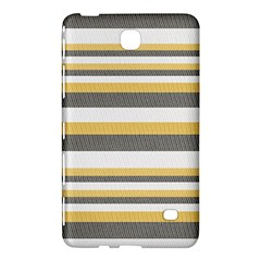Textile Design Knit Tan White Samsung Galaxy Tab 4 (7 ) Hardshell Case
