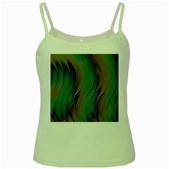 Texture Abstract Background Green Spaghetti Tank