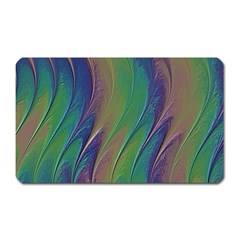 Texture Abstract Background Magnet (rectangular)