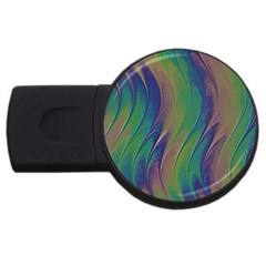 Texture Abstract Background Usb Flash Drive Round (2 Gb)