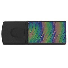Texture Abstract Background USB Flash Drive Rectangular (1 GB)