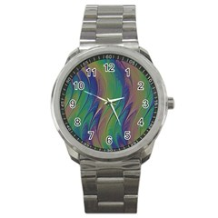 Texture Abstract Background Sport Metal Watch